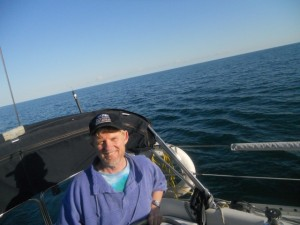 Sean on Lake Ontario